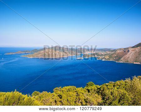 Ithaca Island In Greece
