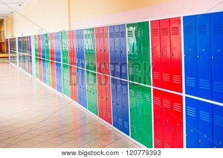 Colorful Metal Lockers