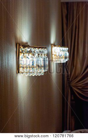 Contemporary Glass Chandelier Premium Ceiling