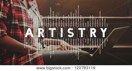 Artistry Analysis Creative Contemporary Concept