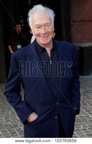 NEW YORK-MAY 24: Actor Christopher Plummer attends the New York screening of 'Beginners' at Tribeca Grand Hotel on May 24, 2011 in New York City.