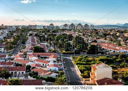 Cityscape Of Torrevieja. Costa Blanca. Spain