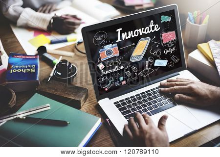 Innovate Innovation Invention Development Vision Concept