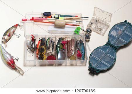 Set Of Fishing Gear.