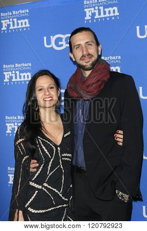 SANTA BARBARA - FEB 4:  Rachel Rossitto, Ben Henretig at the 31st Santa Barbara International Film Festival - Maltin Modern Master on February 4, 2016 in Santa Barbara, California