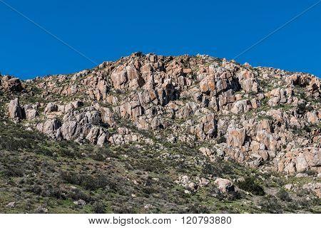 Rocky Landscape on Fortuna Mountain
