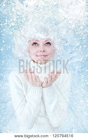 Frozen Beautiful Girl