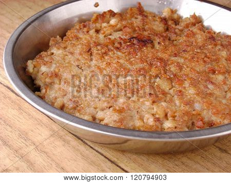 Barbecued Pork Meat Cutlet