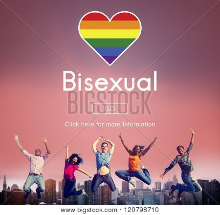 Transgender Bisexual Homosexusl Personal Right Concept