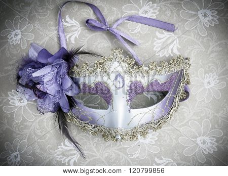 venetian mask from above