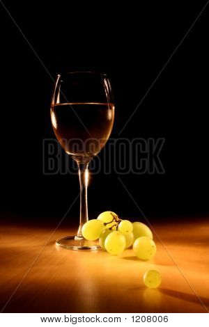 Evening Wine Still Life