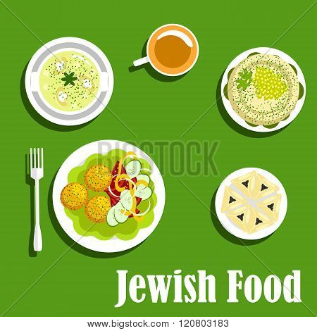 Kosher dishes of jewish cuisine1