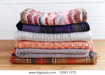 Winter Fashion Clothing Stack