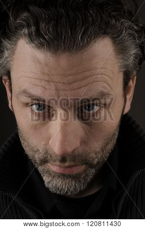 Portrait of a man looking at the camera