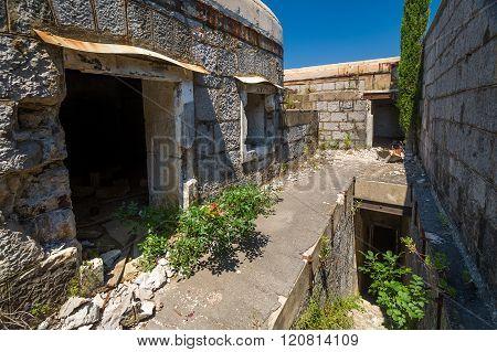 Fort Kabala inside view