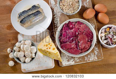 Foods Highest In Vitamin B12 (cobalamin)
