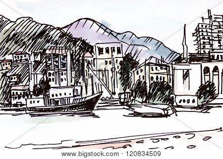 Landscape With Marina