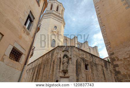 Girona. Main Cathedral.