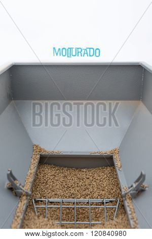 Fresh Seeds In Metal Construction