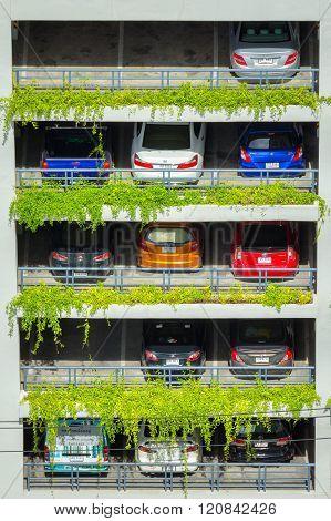Parking Garage.