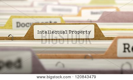 Intellectual Property on Business Folder in Catalog.