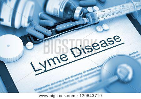 Lyme Disease. Medical Concept.