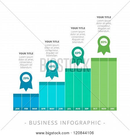Vertical Bar Chart Template