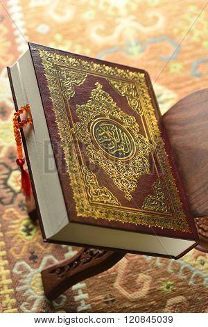 Close up of holy Koran