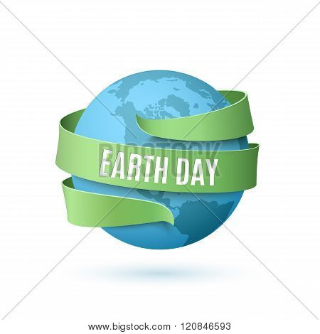 Earth day background.