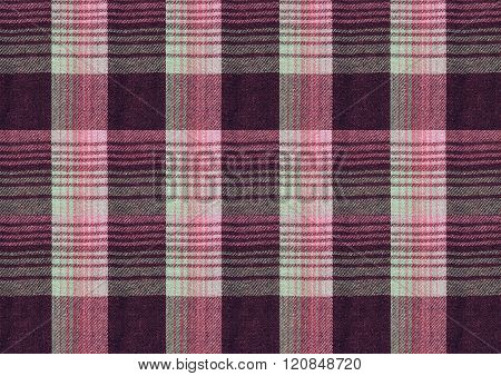 Vinous and pink checkered textured background