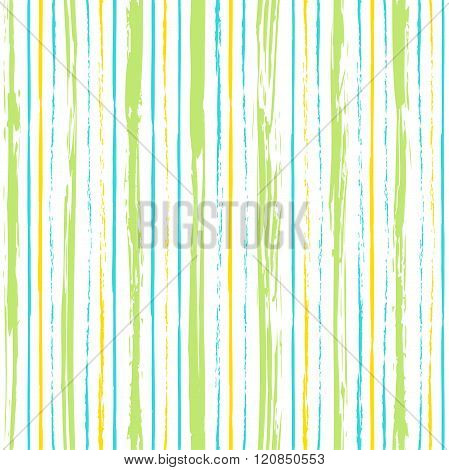 Colorful Stripes Seamless Pattern.