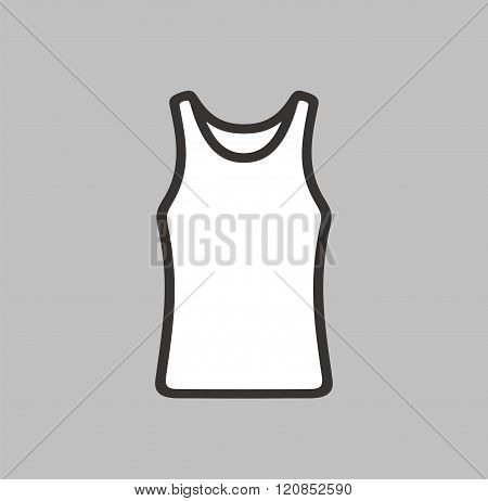 Singlet Icon On Background