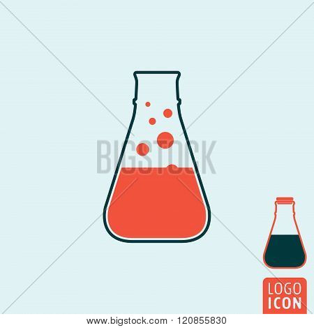Laboratory Icon Isolated