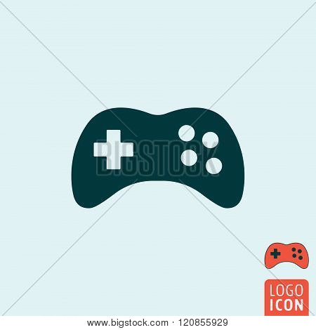 Gamepad Icon Isolated