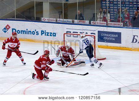 A. Ugarov (18) Attack, E. Ivannikov (31) Defend