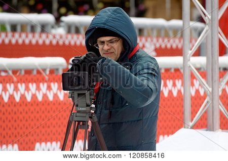 Camera Man Working