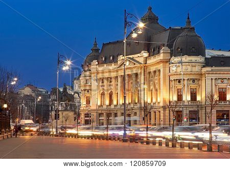 Bucharest By Night