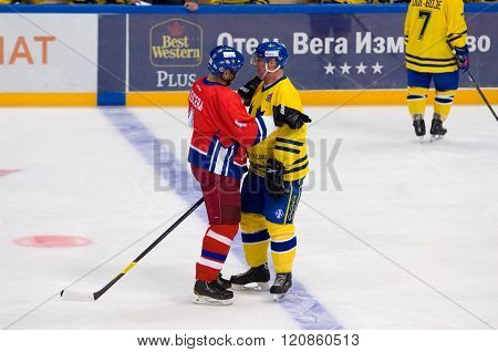 Frantisek Kucera (4) And Magnus Roupe (19)