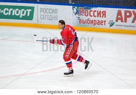 Russian Rocket Pavel Bure (10) Training
