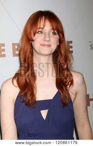 LOS ANGELES - MAR 7:  Laura Spencer at the The Bronze Premiere at the SilverScreen Theater at the Pacific Design Center on March 7, 2016 in Los Angeles, CA