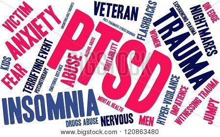 PTSD Word Cloud
