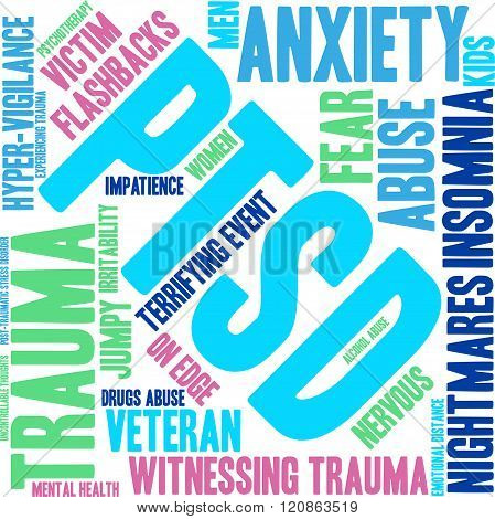 PTSD Word Cloud