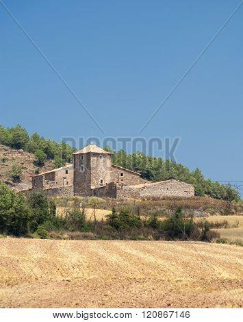 Historic Farm In Catalunya (spain)