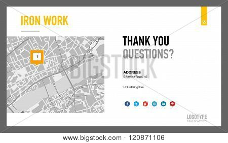 Contact Information Presentation Slide 2