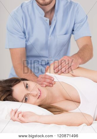 Pregnant Woman Deserves To Be Pampered
