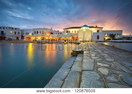 Mykonos island.