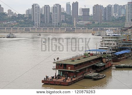 cityscape of city Chongqing, China