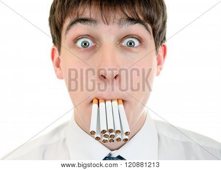 Teenager With Cigarettes