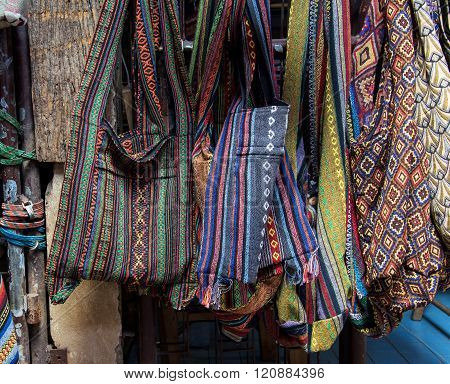 Colorful Traditional Textile Bag