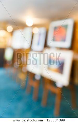 Blurred Art Gallery